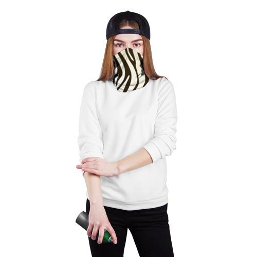 Бандана-труба 3D Шкура зебры Фото 01