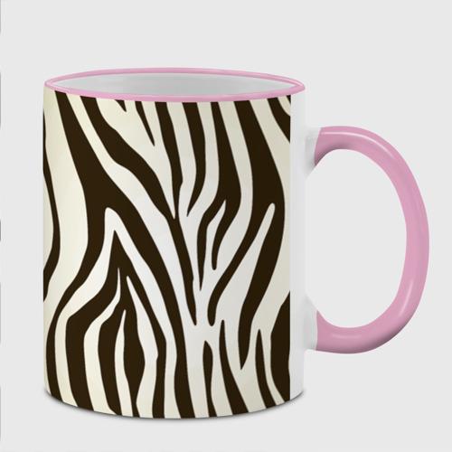 Кружка с полной запечаткой  Фото 02, Шкура зебры