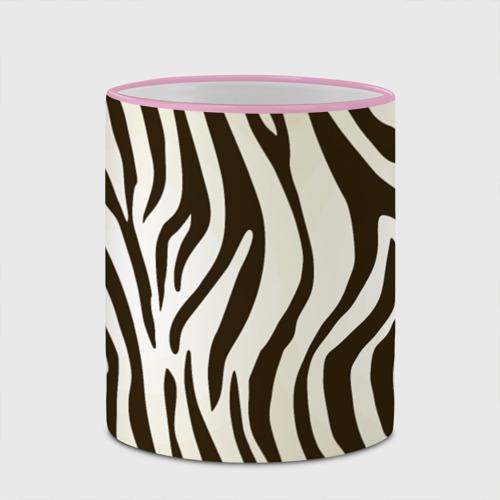 Кружка с полной запечаткой Шкура зебры Фото 01