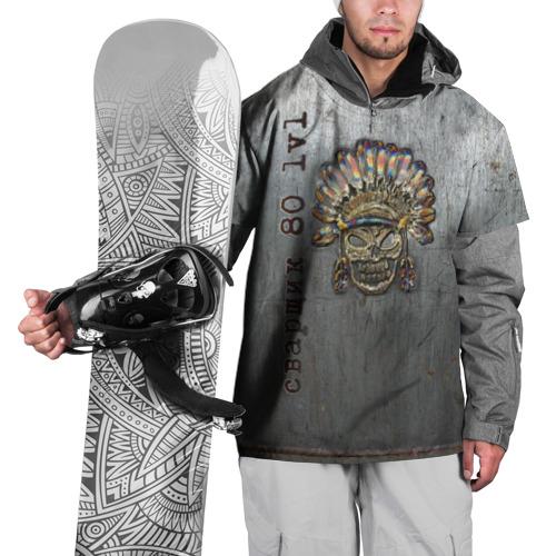 Накидка на куртку 3D  Фото 01, сварщик 80 уровня