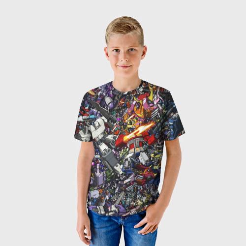Детская футболка 3D Transformer Art