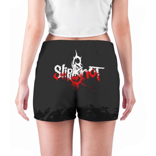 Женские шорты 3D  Фото 04, Slipknot N3 Chris Fehn