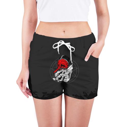 Женские шорты 3D  Фото 03, Slipknot N3 Chris Fehn