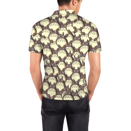 Мужская рубашка поло 3D  Фото 04, Тоторо