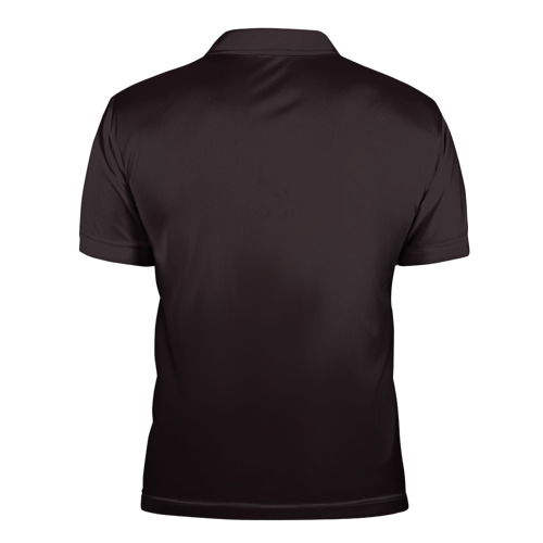 Мужская рубашка поло 3D  Фото 02, Space WOLF