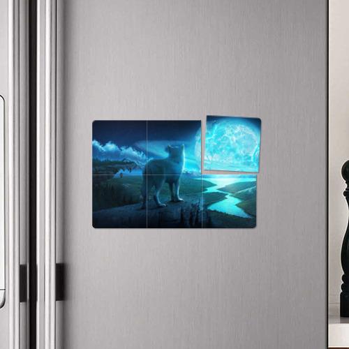 Магнитный плакат 3Х2  Фото 04, Blue Moon