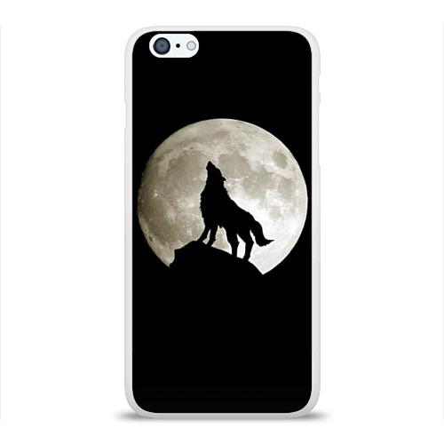 Чехол для Apple iPhone 6Plus/6SPlus силиконовый глянцевый  Фото 01, Moon