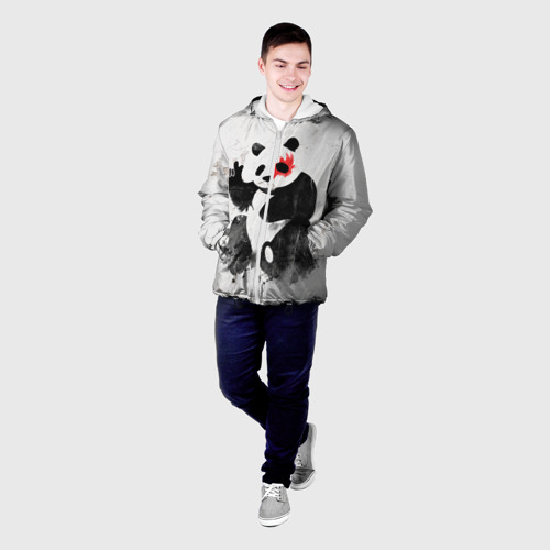 Мужская куртка 3D  Фото 03, Рок-панда
