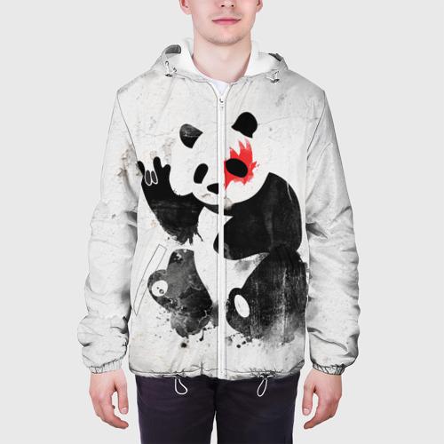 Мужская куртка 3D  Фото 04, Рок-панда