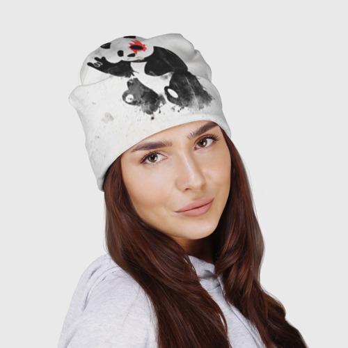 Шапка 3D  Фото 03, Рок-панда
