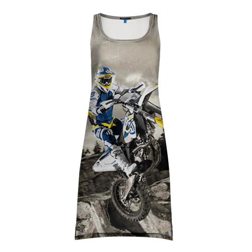 Платье-майка 3D husqvarna