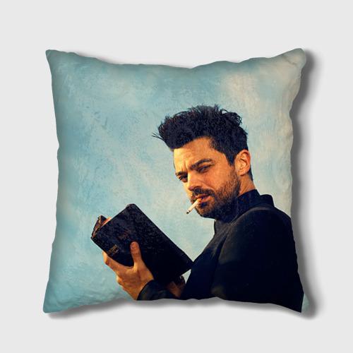 Подушка 3D Проповедник в огоне