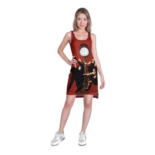 Платье-майка 3D  Фото 03, Друзья