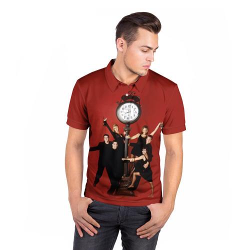 Мужская рубашка поло 3D  Фото 05, Друзья