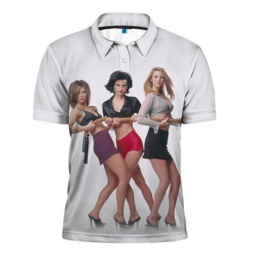 Мужская рубашка поло 3D  Фото 01, Друзья