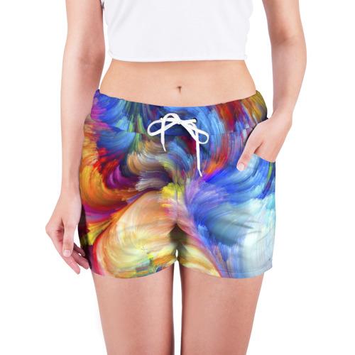 Женские шорты 3D  Фото 03, Краски