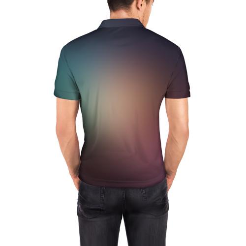 Мужская рубашка поло 3D  Фото 04, Space WOLF