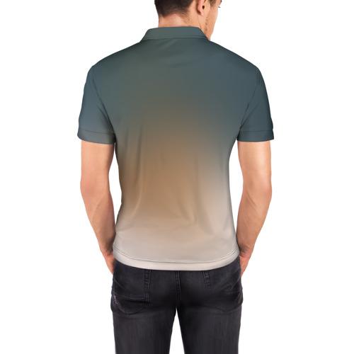 Мужская рубашка поло 3D  Фото 04, Рисунок