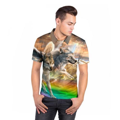 Мужская рубашка поло 3D  Фото 05, Фантазия