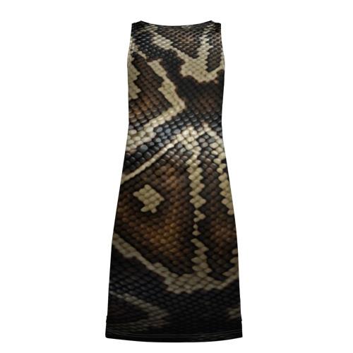Платье-майка 3D  Фото 02, Кожа змеи