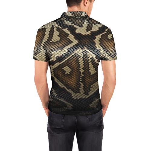 Мужская рубашка поло 3D  Фото 04, Кожа змеи