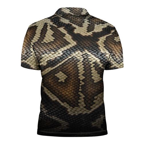 Мужская рубашка поло 3D  Фото 02, Кожа змеи