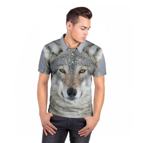 Мужская рубашка поло 3D  Фото 05, Мягкие ушки