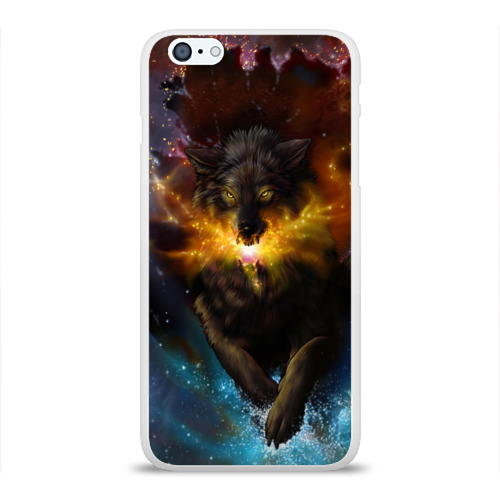 Чехол для Apple iPhone 6Plus/6SPlus силиконовый глянцевый  Фото 01, Star Wolf
