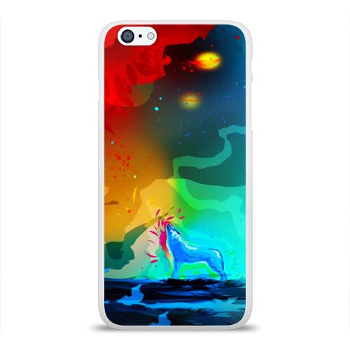 Чехол для Apple iPhone 6Plus/6SPlus силиконовый глянцевый  Фото 01, Wolf