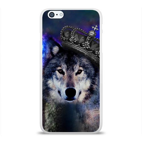 Чехол для Apple iPhone 6Plus/6SPlus силиконовый глянцевый  Фото 01, King Wolf