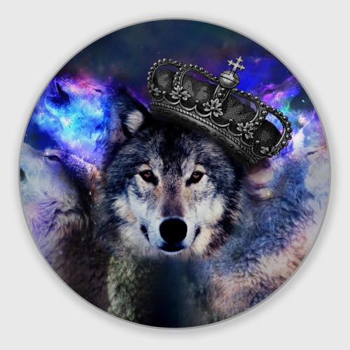 Коврик для мышки круглый King Wolf Фото 01