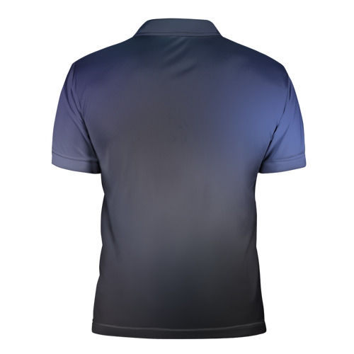 Мужская рубашка поло 3D  Фото 02, King Wolf