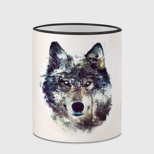 Кружка с полной запечаткой Волк Фото 01