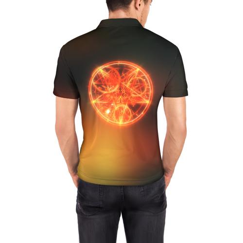 Мужская рубашка поло 3D  Фото 04, Imp from Doom