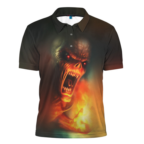 Мужская рубашка поло 3D  Фото 01, Imp from Doom