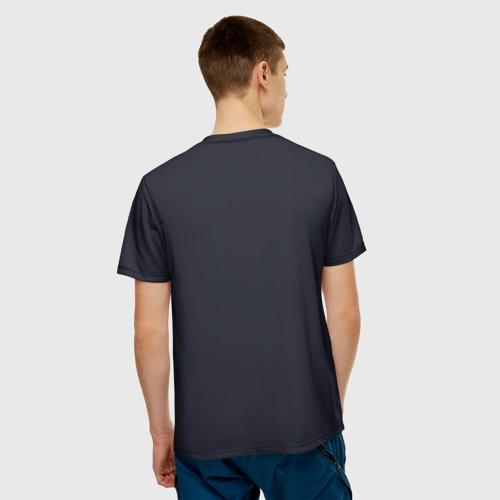 Мужская футболка 3D  Фото 02, Скромный тигр