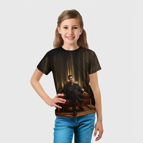 Детская футболка 3D  Фото 03, Люцифер