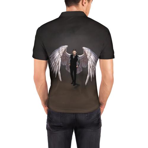 Мужская рубашка поло 3D  Фото 04, Люцифер