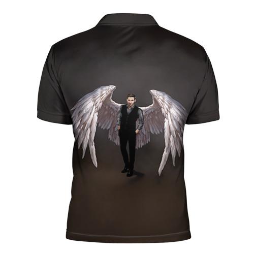 Мужская рубашка поло 3D  Фото 02, Люцифер