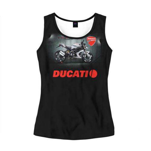 Женская майка 3D Ducati 4