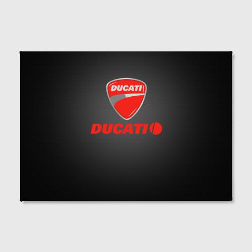 Холст прямоугольный  Фото 02, Ducati 3