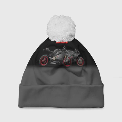 Шапка 3D c помпоном  Фото 01, Ducati 2