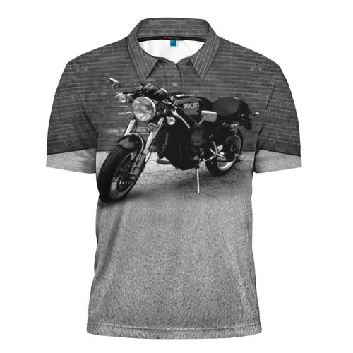 Мужская рубашка поло 3D  Фото 01, Ducati 1