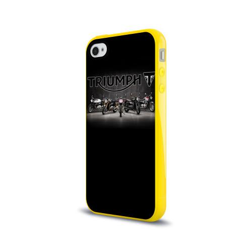 Чехол для Apple iPhone 4/4S силиконовый глянцевый Triumph 5 Фото 01