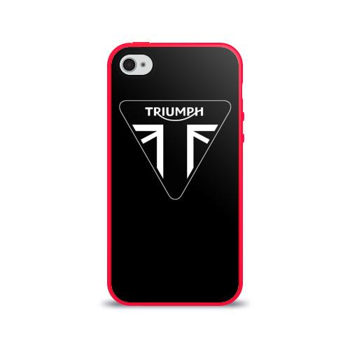 Чехол для Apple iPhone 4/4S силиконовый глянцевый Triumph 4 Фото 01