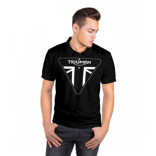 Мужская рубашка поло 3D  Фото 05, Triumph 4