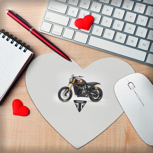 Коврик для мыши сердце  Фото 02, Triumph 3