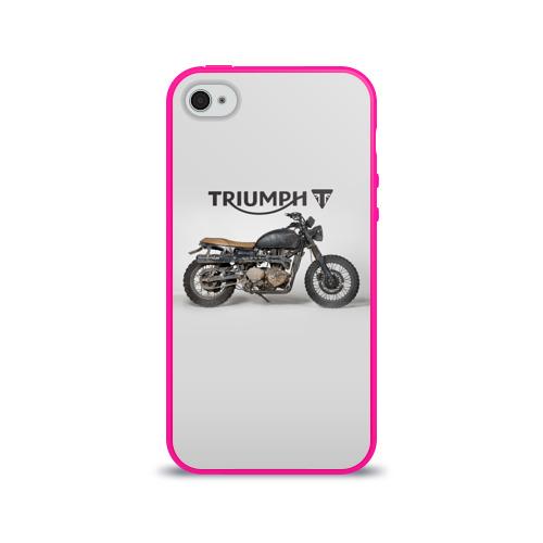 Чехол для Apple iPhone 4/4S силиконовый глянцевый Triumph 2 Фото 01