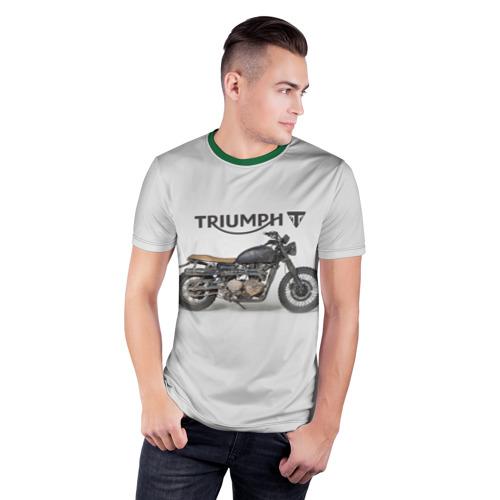 Мужская футболка 3D спортивная  Фото 03, Triumph 2