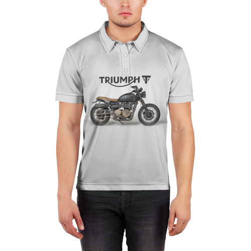 Мужская рубашка поло 3D  Фото 03, Triumph 2